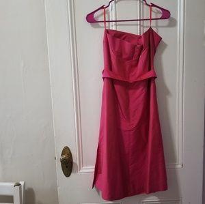 Aria Dresses - Aria strapless silk dress small
